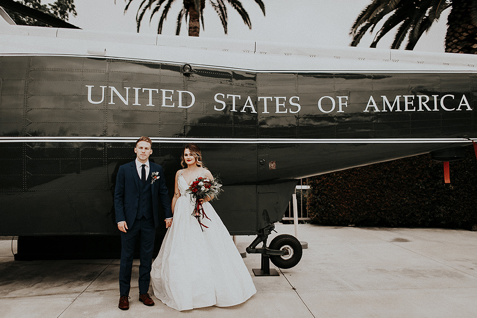 Orange-county-elegant-wedding-shoot-at-the-nixon-library-bride-and-groom