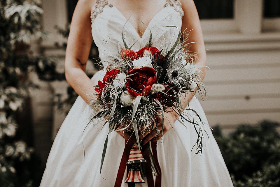 Orange-county-elegant-wedding-shoot-at-the-nixon-library-bride-close-up