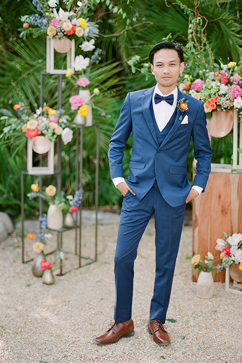 Caravan-outpost-outdoor-wedding-shoot-groom-blue-suit