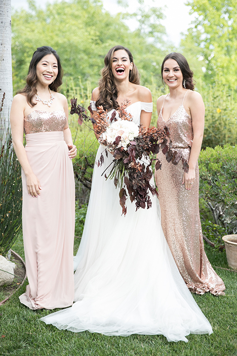 Los-angeles-wedding-shoot-bride-with-bridesmaids
