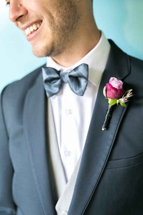 Los-angeles-wedding-shoot-groom-groom-bow-tie