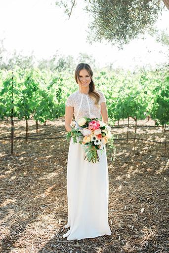 Cielo-Farms-Wedding-Bride-Standing