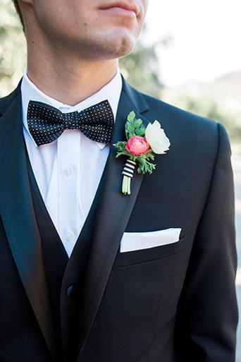 Cielo-Farms-Wedding-Groom-Suit-With-Bow