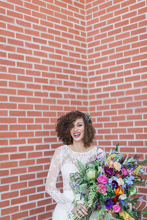 Colorful-bohemian-wedding-shoot-bride