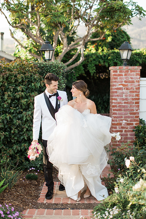Santa-barbara-outdoor-wedding-bride-and-groom-standing