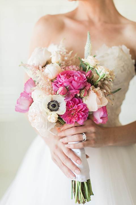 Santa-barbara-outdoor-wedding-bride-holding-bouquet-close-up