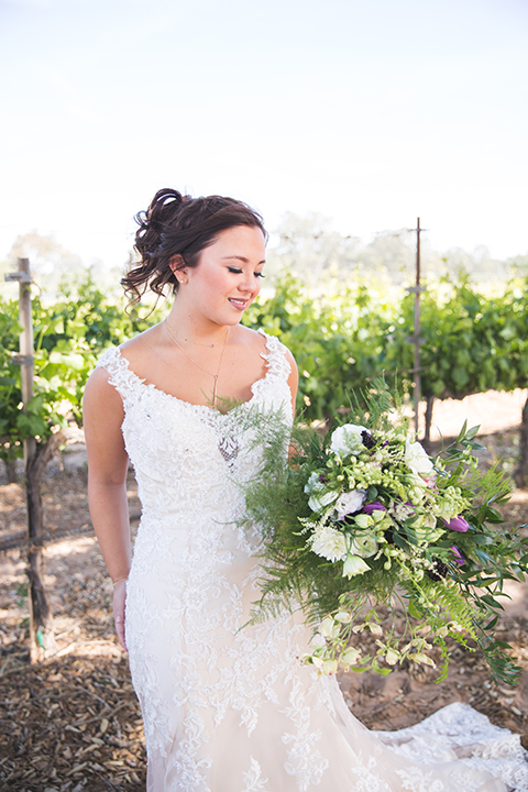 Santa-barbara-wedding-shoot-at-cottonwood-canyon-winery-bride-holding-bouquet-close-up