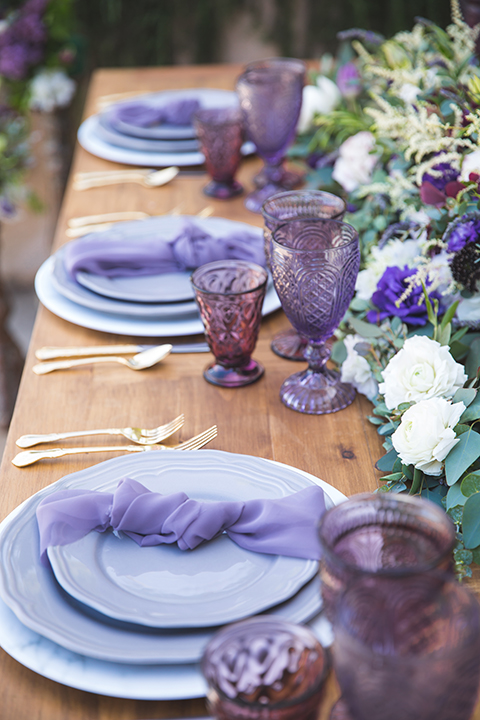 Santa-barbara-wedding-shoot-at-cottonwood-canyon-winery-table-set-up-with-place-settings-and-glassware