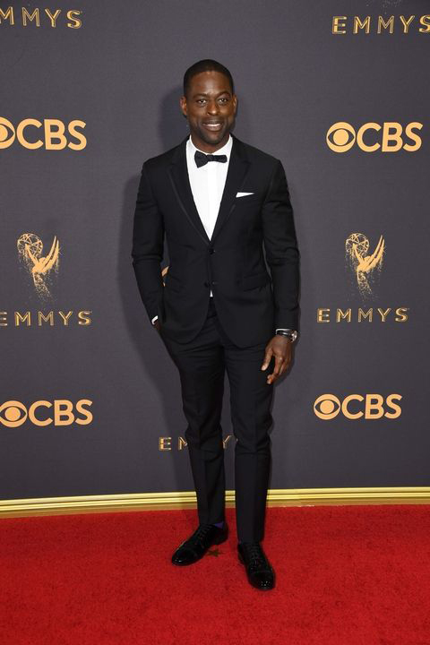 2017-emmys-sterling-k-brown-black-tuxedo-with-black-bow-tie