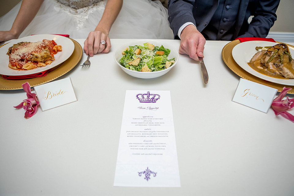 Fit-for-royalty-wedding-shoot-bride-and-groom-sitting-at-table-close-up