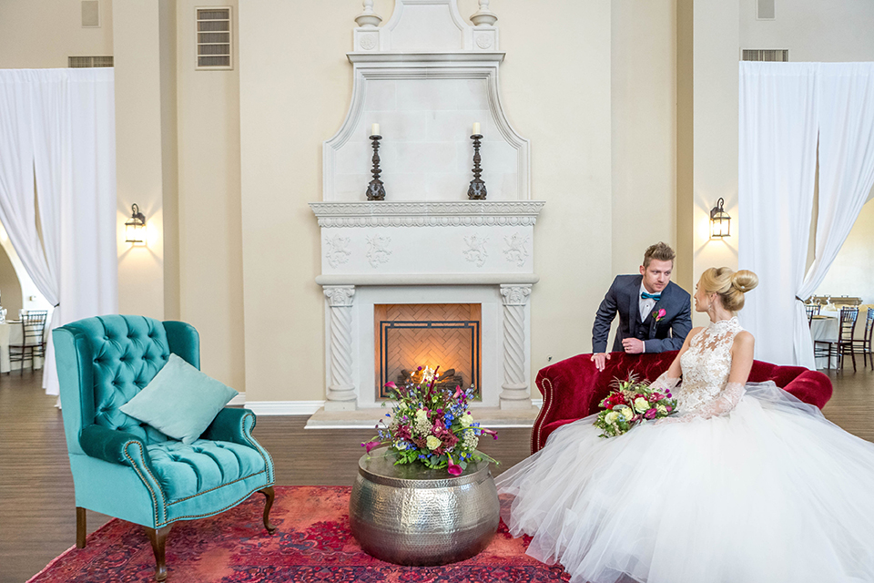 Fit-for-royalty-wedding-shoot-bride-and-groom-sitting