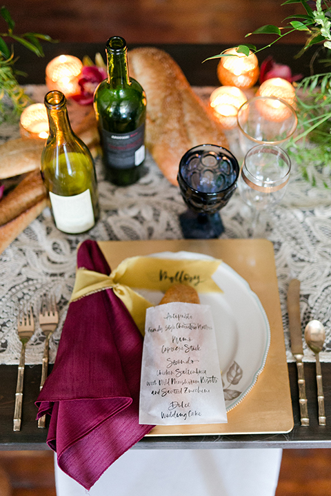 San-juan-capistrano-wedding-shoot-at-franciscan-gardens-table-set-up-with-place-setting