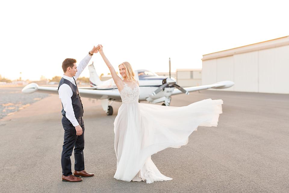 Orange-county-wedding-at-fullerton-hangers-bride-and-groom-dancing