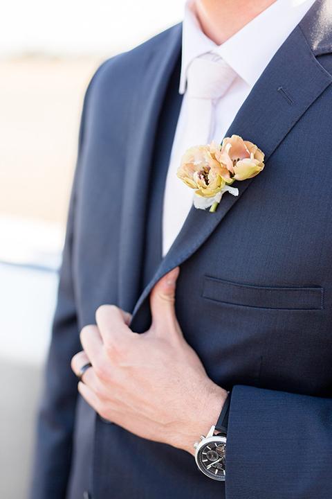 Orange-county-wedding-at-fullerton-hangers-groom-blue-suit-close-up