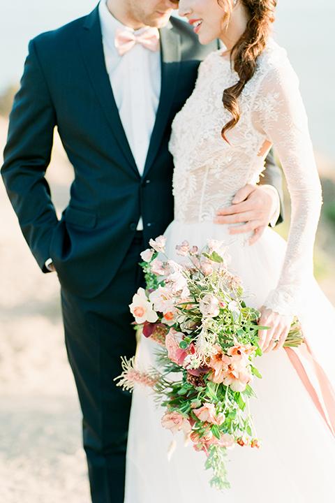 San-diego-outdoor-wedding-shoot-hawaiian-inspiration-bride-and-groom-close-up-hugging
