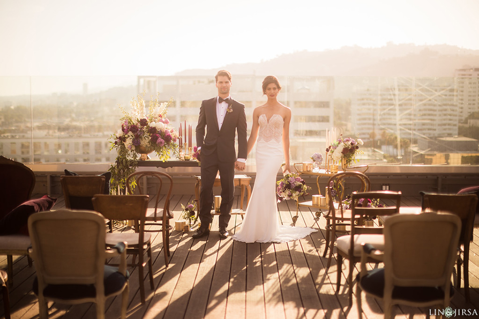 Los-angeles-wedding-shoot-hollywood-roosevelt-bride-and-groom-ceremony