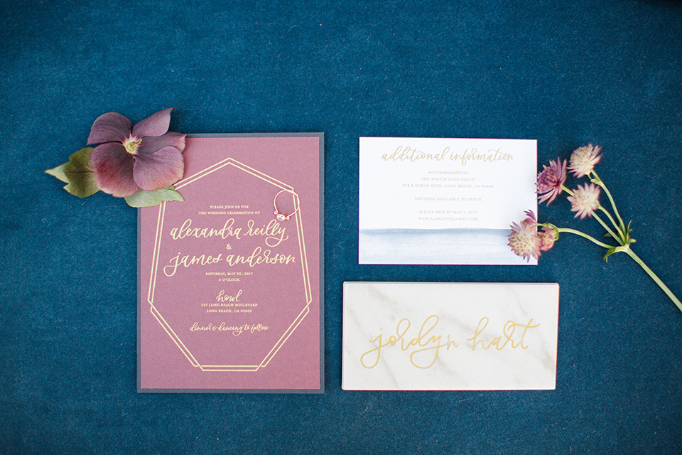 Long-beach-wedding-shoot-at-howl-wedding-invitations