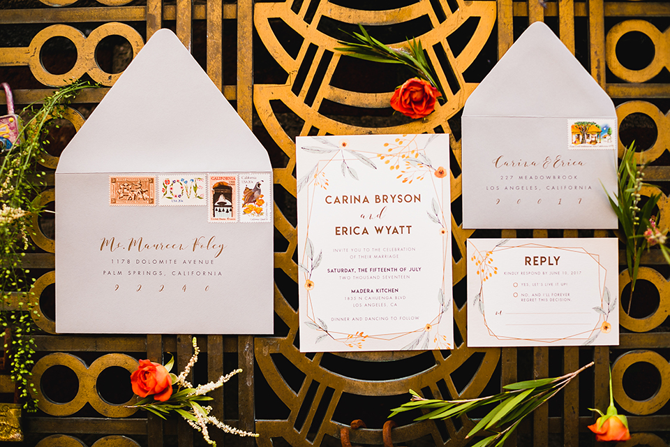 Lesbian-wedding-shoot-at-madera-kitchen-wedding-invitations