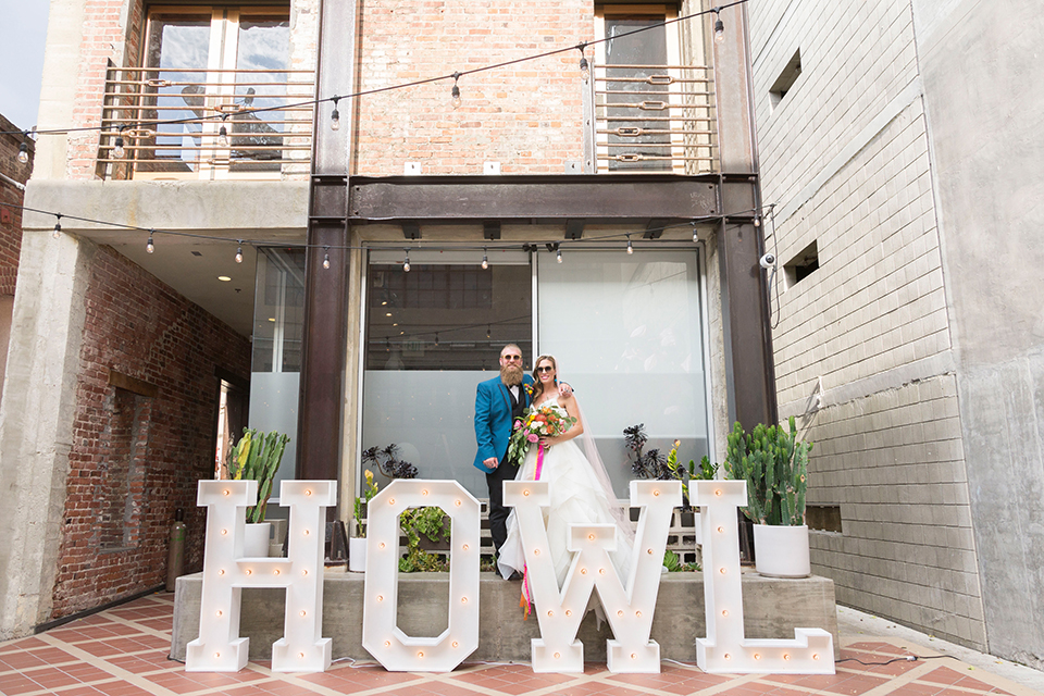 Long-beach-wedding-shoot-at-howl-bride-and-groom-standing