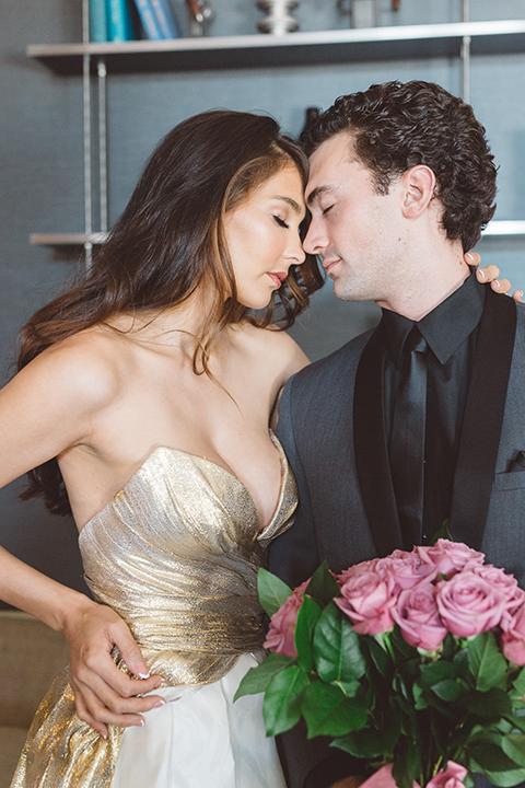 Los-angeles-wedding-shoot-in-santa-monica-bride-and-groom-close-up