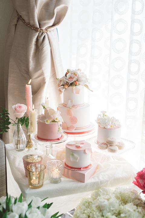 Los-angeles-wedding-shoot-in-santa-monica-wedding-cakes