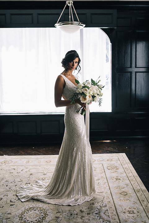 Los-angeles-wedding-at-the-majestic-bride-holding-bouquet