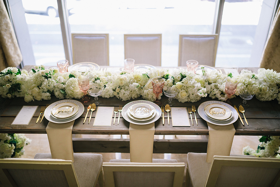 Los-angeles-wedding-at-the-majestic-table-set-up-with-place-settings