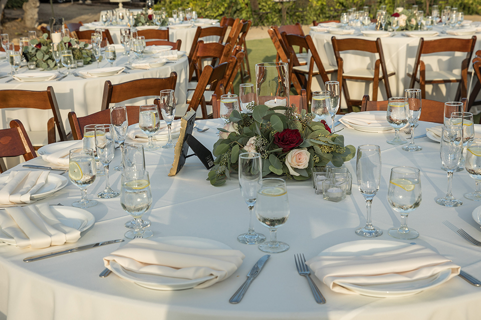 Orange-county-wedding-at-the-hamilton-oaks-winery-table-set-up-with-place-settings