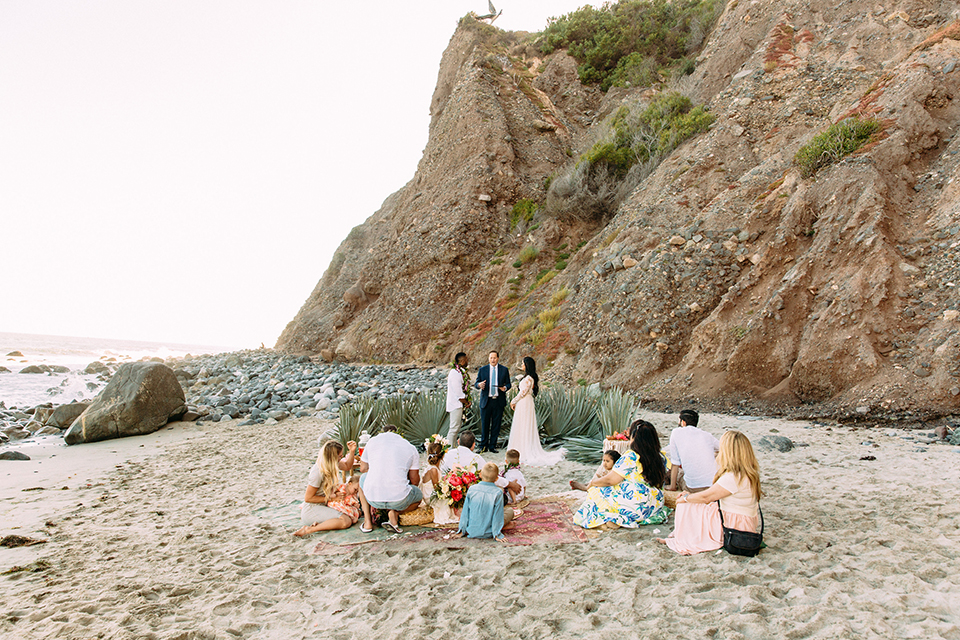 Orange-county-beach-wedding-in-dana-point-ceremony-with-guests