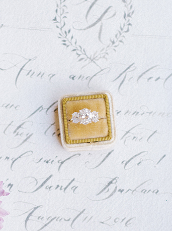 Sand-dunes-wedding-shoot-ring-in-yellow-box