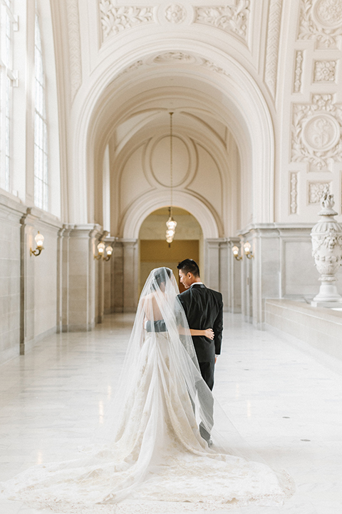 San-francisco-glamorous-wedding-at-city-hall-bride-and-groom