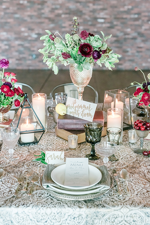 Orange-county-wedding-at-the-colony-house-table-set-up-with-table-number