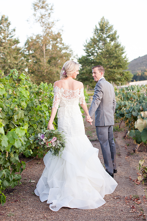 Temecula-outdoor-wedding-bride-and-groom-holding-hands