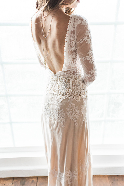 Malibu-wedding-shoot-at-triunfo-creek-vineyards-bride-lace-gown-with-low-back