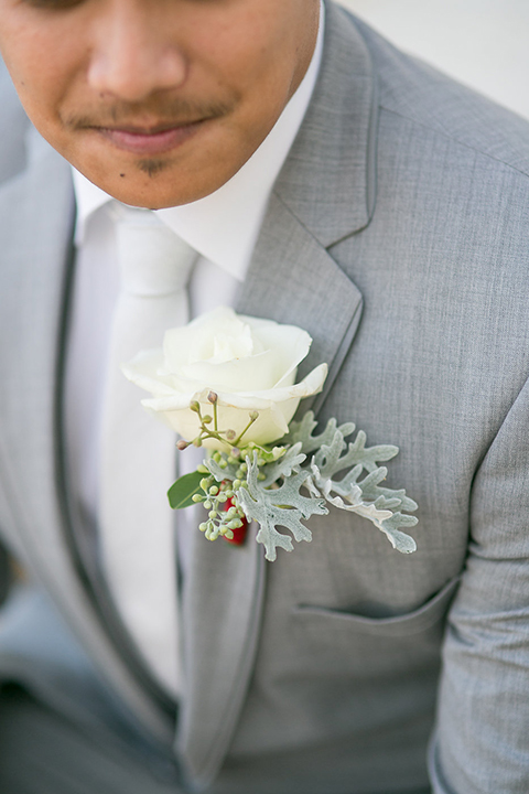 Northern-california-wedding-shoot-at-fitz-place-groom-heather-grey-suit-close-up