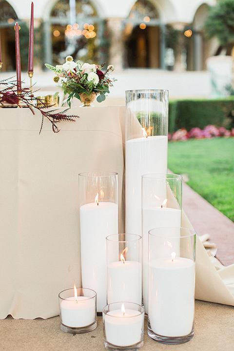 Huntington-bay-club-wedding-candles