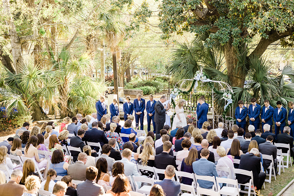 South-carolina-summer-outdoor-wedding-at-the-wickliffe-house-ceremony-far-away-view