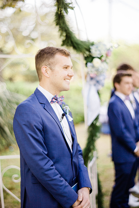 South-carolina-summer-outdoor-wedding-at-the-wickliffe-house-ceremony-groom