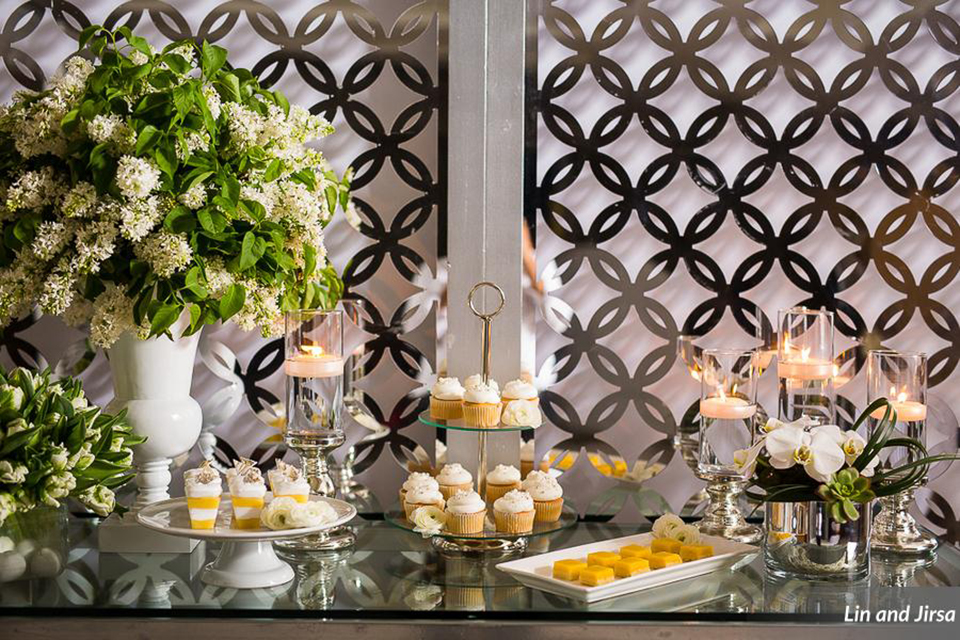 Laguna-beach-outdoor-wedding-same-sex-wedding-dessert-table-set-up