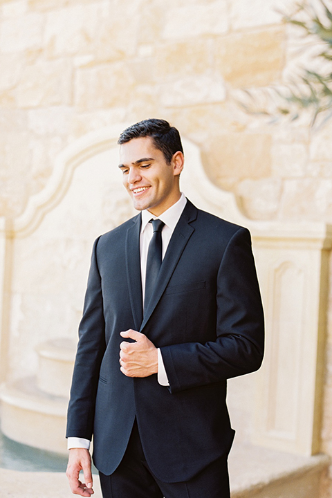 Malibu-rocky-oaks-valentines-day-wedding-shoot-groom-black-suit