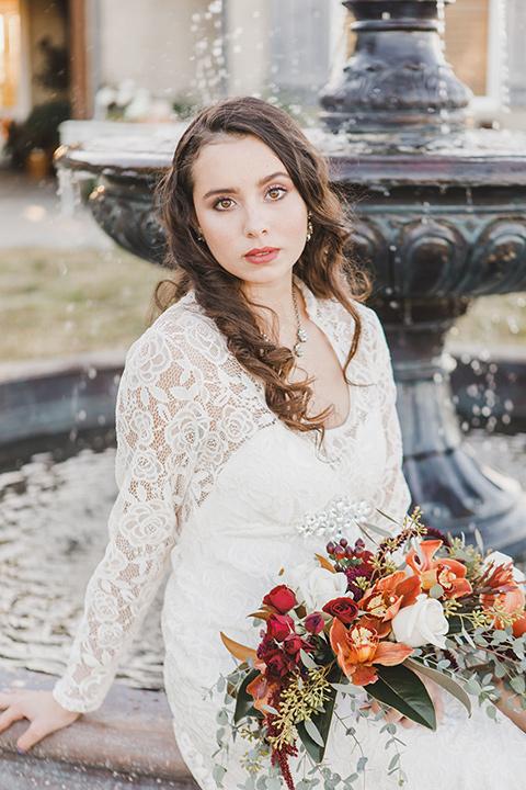 chateau-raquel-romantic-wedding-bride-close-up