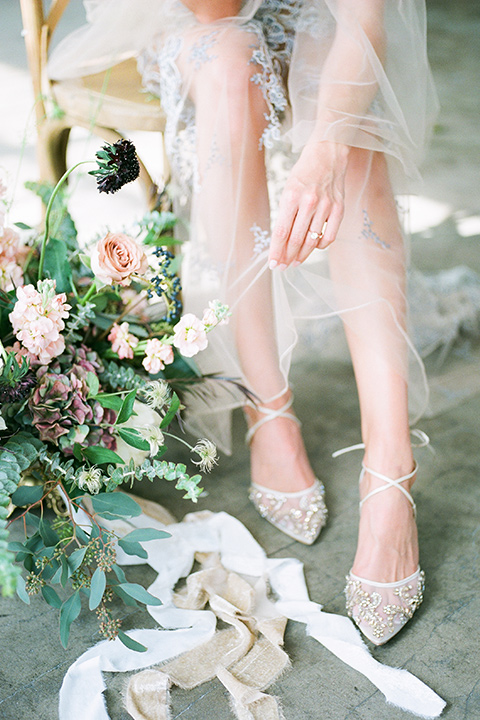 FD-Studios-Shoot-bridal-shoes-a-white-sheer-pointed-toe-heel-with-a-strap