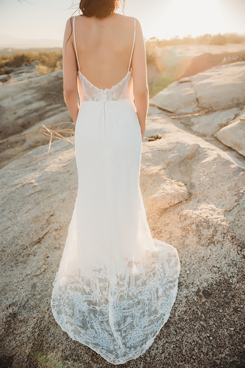 Moonflower-Ranch-Shoot-back-of-bridal-gown-with-lace-detailing-and-straps