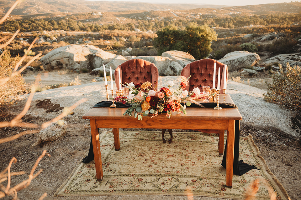 Moonflower-Ranch-Shoot-table-and-chairs-with-wooden-table-and-tall-candles