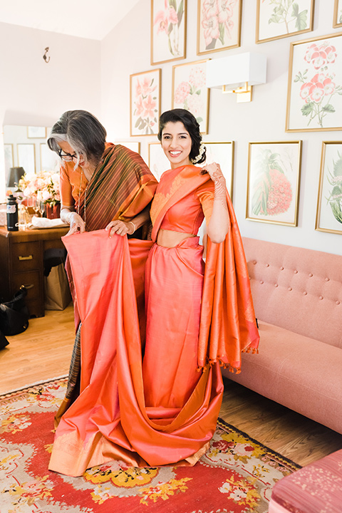 Supriya-and-Chris-wedding-bride-in-indian-gown