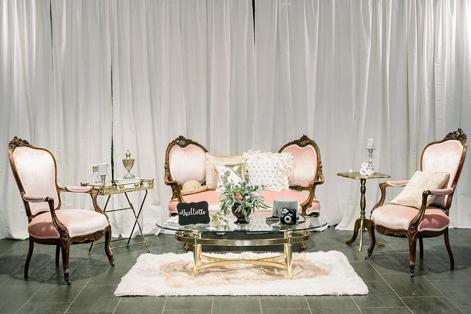 community-church-wedding-furniture-with-blush-vintage-tones