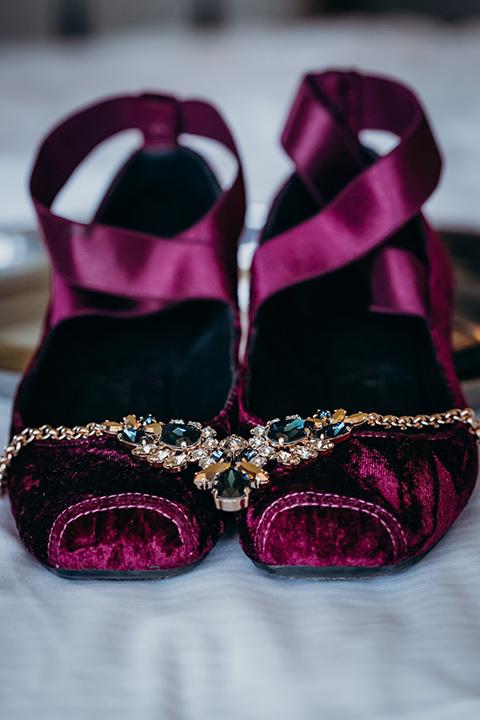 la-jolla-wedding-bridal-shoes-in-a-purple-velvet-ballet-slipper-styled-shoe