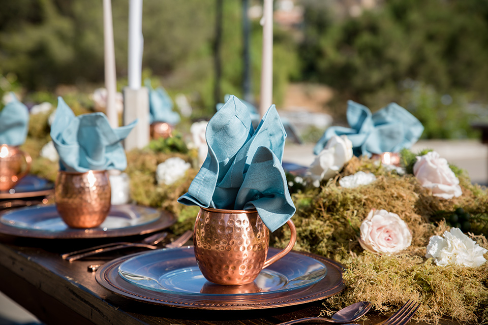 Blossom-valley-victorian-shoot-table-décor-with-bright-blue-flowers