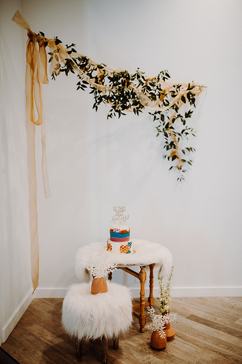 cake and dessert table and decor