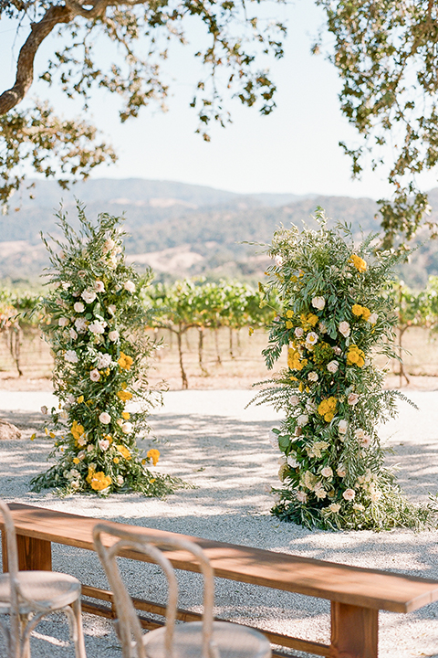 ceremony space and décor